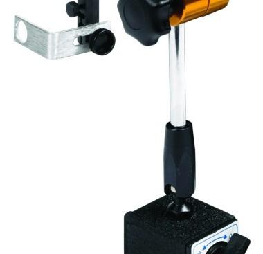 Magnetic base for optical sensor