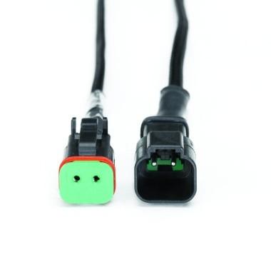 2-pin Deutsch breakout lead connector