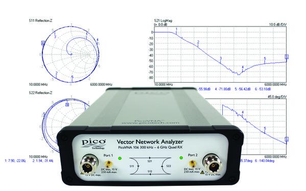 Vector Network Analyzer Plots : Pico press