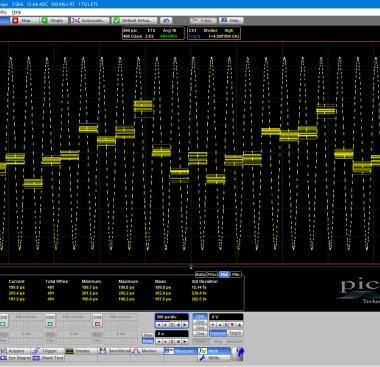 PicoSample4 timebase accuracy