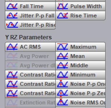 PicoSample4 x-nrz parameters