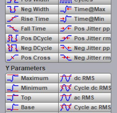 PicoSample4 x-y parameters